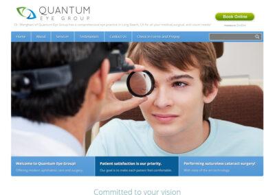 Quantum Eye Group Website