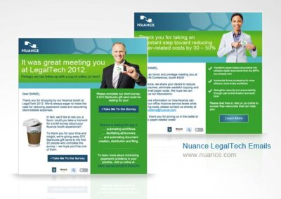 Nuance LegalTech Email