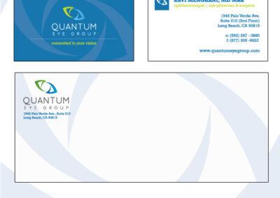 Quantum Business Cards and Envelope